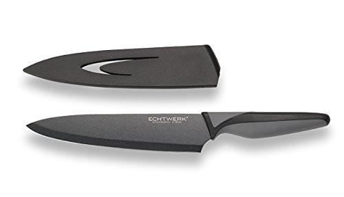 Echtwerk EW-SS-0110 Edelstahl Kochmesser, 20 cm Messerklinge