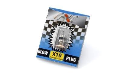 Rossi Bujía Glow Plug X10 Tipo OS fría Very Cold universal para todos los motores RC de combustión 2T
