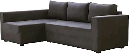 Best HomeTown Market The Dark Gray Manstad Cover Replacement is Custom Made for IKEA Manstad Sofa Bed, Or