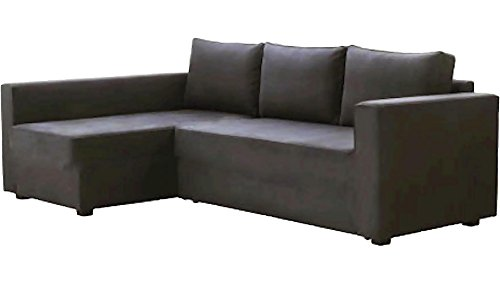 HomeTown Market Manstad Gray Sectional Sofa Bed
