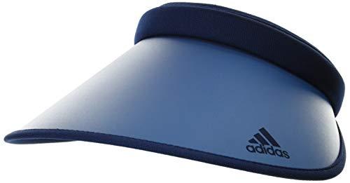 [アディダス] サンバイザー ADW 3STBOS PRINT CLIPVISOR 106311202 NAVY 日本 OSFX(57~60cm (日本サイズS-M相当)