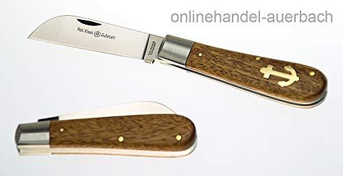Robert Klaas Ankermesser, Edelholz, Gußstahl, 75mm