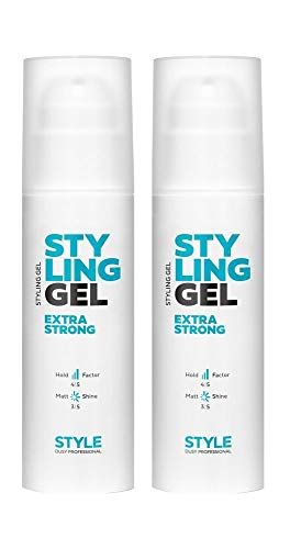 Dusy Style Styling Gel Extra Strong 150ml Haargel Hairgel (2 Stück)