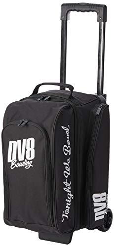 DV8 Freestyle Bowlingtasche Double Roller Schwarz