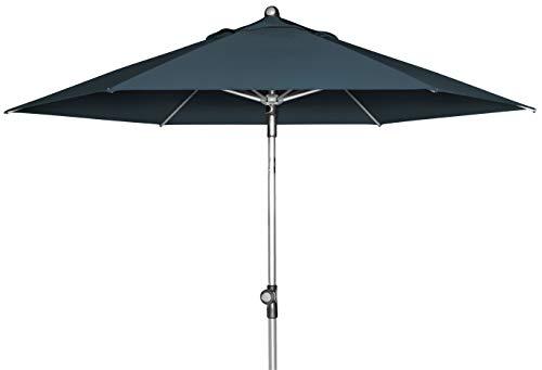 doppler Push Up Sonnenschirm SL-AZ 220 - Ideal für den Balkon oder Garten - ca. 220 cm - Knickbar - Anthrazit  416579840AZ
