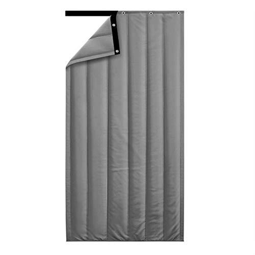 Verdicken Baumwoll-Vorhänge-JINRONG Winter Verdicken Baumwolle Vorhang - Start Schlafzimmer Windundurchlässiges Schallisolierung Oxford Cloth Partition Vorhang (Color : Gray, Size : 90 * 210cm)
