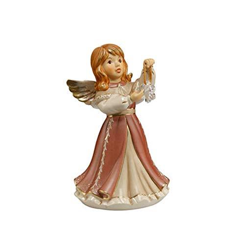 Goebel - Statuetta natalizia luccicante 'Pearly Velvet'