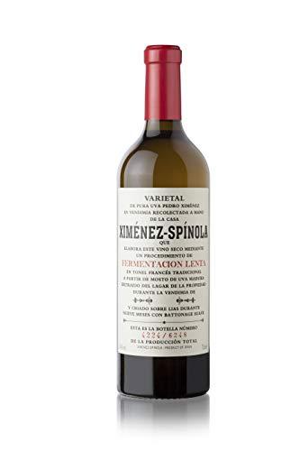 Fermentación Lenta Ximénez-Spínola. Vino blanco seco de uva Pedro Ximénez.