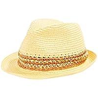 Esprit 050EA1P301 Sombrero de Panamá, 750/amarillo, S para Mujer