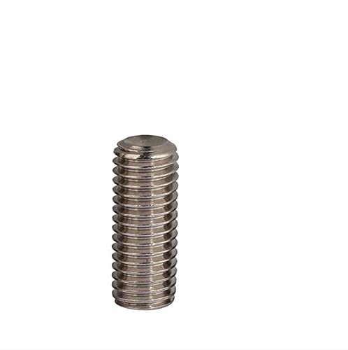 ShuYing M5 Hex SOCHER CABEZ Cable Conjunto DE Cable Tornillo DE Grus Hilo métrico sin Cabeza Allen Taza Punto de la Taza 304 (tamaño : 3mm (50pcs))