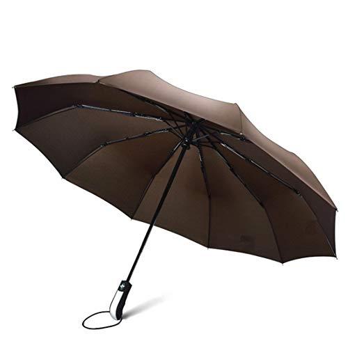 Fusanadarn Compact reisparaplu - winddicht, versterkte overkapping, ergonomische handgreep, automatisch openen/sluiten meerdere kleuren