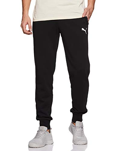 PUMA Herren ESS Logo Pants TR cl Hose, Black-Cat, XL