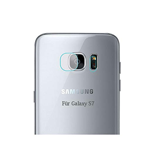 KRS - PS7 - Kamera Linsenschutz Tempered Glass Display Kratz Schutz Folie für Samsung Galaxy S7 (PS7)