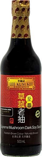 Lee Kum Kee KUM KEE Dunkle Sojasauce, Supreme Mushroom, 640 g