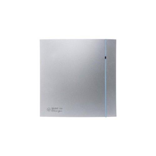 S & p silent-200 - Extractor bano silent-200 cz design silver3 contactos