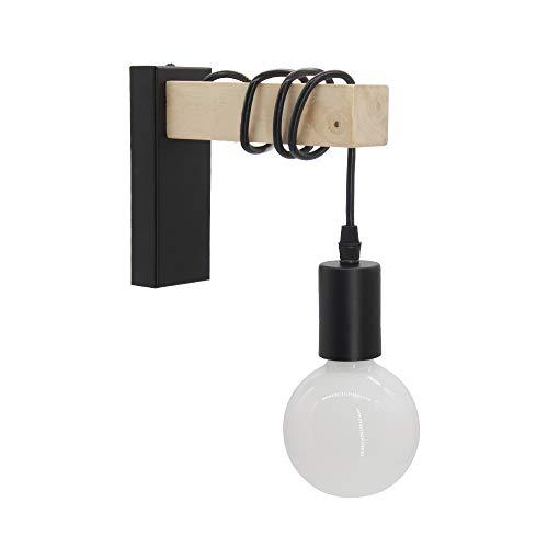 BYX Loft Style lampe moderne E27 appliques murales luminaire pour éclairage intérieur couloir lampe chevet veilleuse métal mural salle d'étude support de lampe