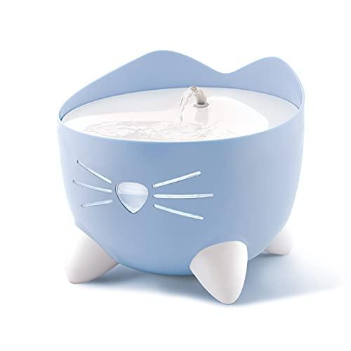 Catit Pixi Trinkbrunnen für Katzen, 2,5L, blau