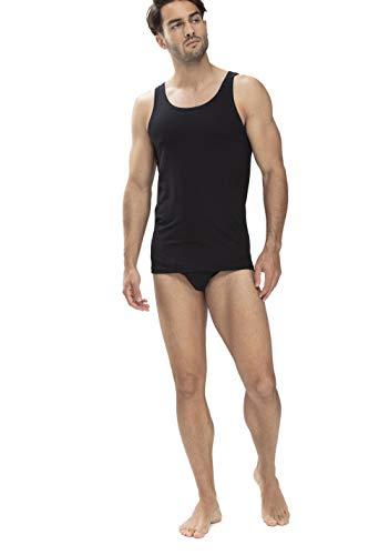 Mey Basics Serie Dry Cotton Herren Shirts ohne Arm Schwarz M
