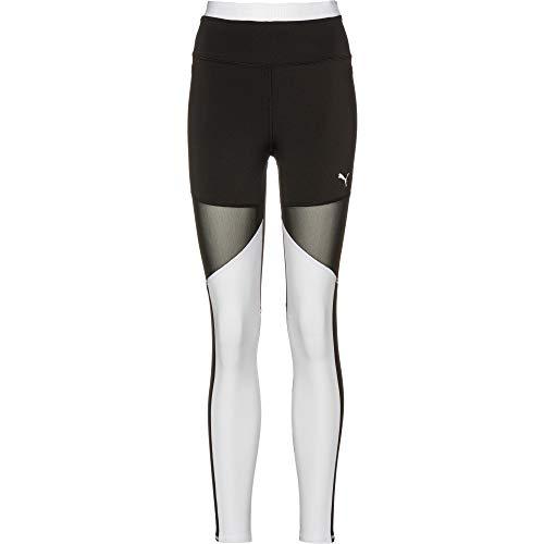 PUMA Damen Be Bold Thermo-R+ Tight Leggings, Black White, XS