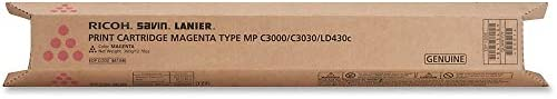 Ricoh Magenta Toner Cartridge, 15000 Yield (841340)
