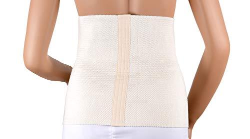 ASSISTICA® Rückenwärmer, Nierenwärmer, Rücken & Taille Wärmegürtel, Lendenwirbelsäule Wärme Bandage, Nieren Wärmegurt, Rückenbandage (X-Large)