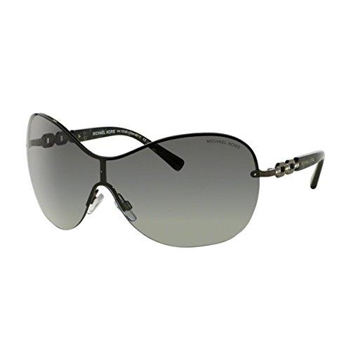 Michael Kors Damen Croatia MK1002B Sonnenbrille, Grau (gunmetal-grau verlauf 100211), Small (Herstellergröße: 40)