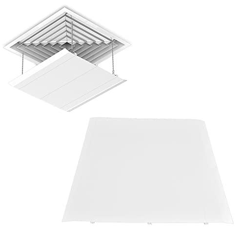 Paravento Centrale per Condizionatore D'aria, 45X45cm Deflettore per Vento Freddo Presa D'aria Condizionata Deflettore per Soffitto Domestico Deflettore Centrale per Aria Condizionata per Casa, Camera