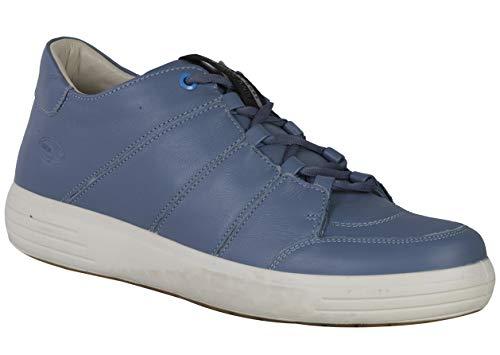 Woodland Men's Dsky Blue Leather Sneaker - 8 UK/India (42 EU)-(GC 2510117HK)