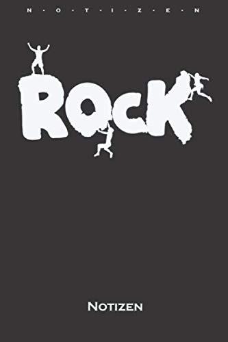 Klettern Bouldern Rock Notizbuch: Kariertes Notizbuch für Kletterfans und Fitnessbegeisterte