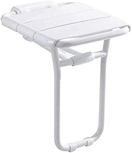 Dusch- und Badestuhl, Duschstühle für Senioren, Badstuhl Faltbarer Wandhocker, rutschfeste Sitzhocker mit Beinhocker / Geeignet für ältere Menschen, Schwangere, Kinder, Behinderte, Duschhocker, Dusche