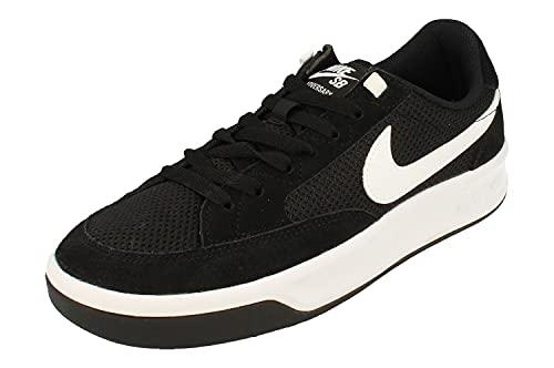 Nike SB Adversary Hombre Trainers CJ0887 Sneakers Zapatos (UK 9 US 10 EU 44, Black White 001)