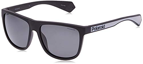 Polaroid PLD 6062/S Gafas de sol, Multicolor (Mtt Black), 57 para Hombre