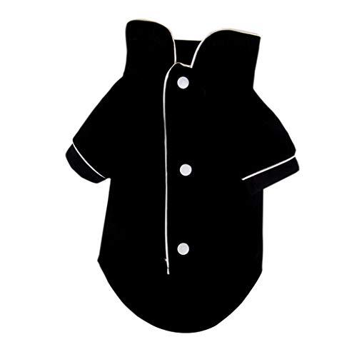 Pet Piżama Dwa rękawy Projekt Solid Color Casual płaszcz zwierzę Odzież Odzież letnia Płaszcz jesienny Pet Supplies