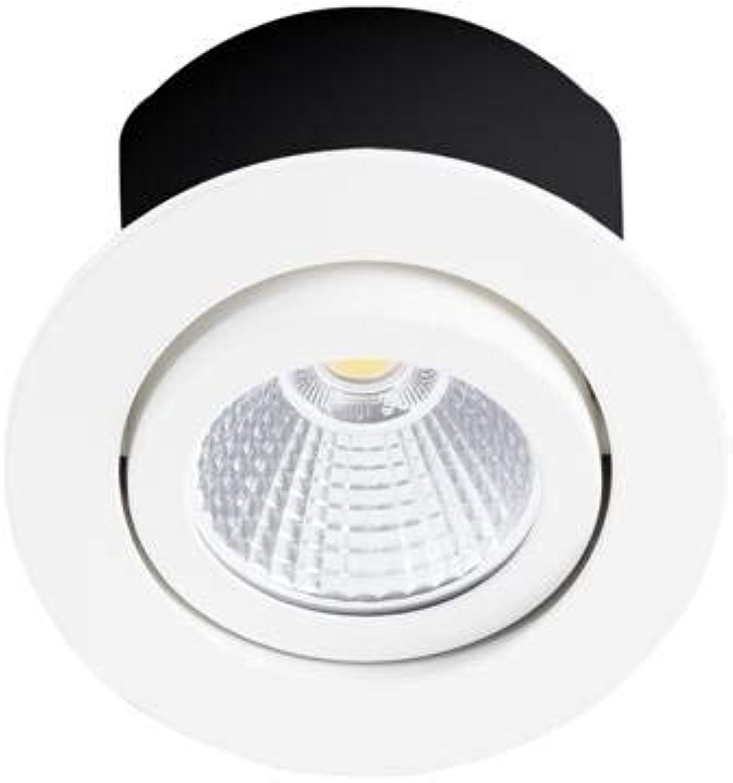 LED-Spot, wei, schwenkbar, 230 V, 4000 °K, 7 W, RT1014 RX 230, Indigo