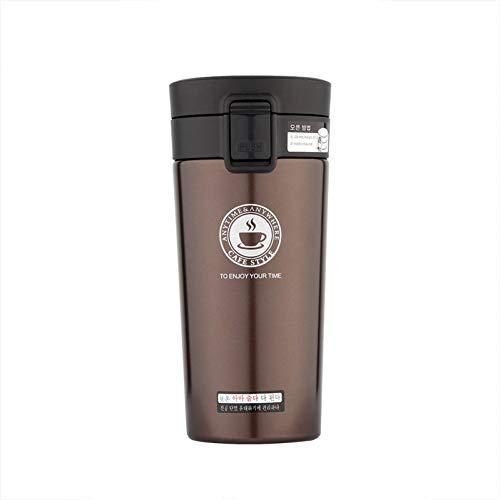 Erjialiu 380 ml doppelwandige Edelstahl-Thermoskanne, heißer Kaffee-Reisebecher, Thermoflasche für Wasser, Isolierflaschen,05