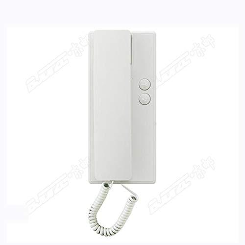 MSNDIAN intercominstallatie voor het gebouw in het algemeen, met verlenging aan de binnenkant, deurbel met 2 kabelsysteem, toegangscontrolesysteem, artikel per paar