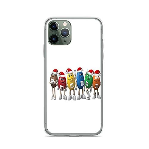 Custodie per Telefoni Christmas M&ms Cover iPhone 12/11 Pro Max 12 mini SE X/XS Max XR 8 7 6 6s Plus Custodie