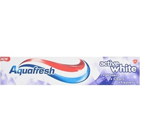 Aquafresh Zahnpasta - Active White - 3er Pack (3 x 125 ml)