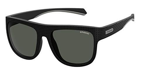 Polaroid PLD 7023/S Gafas de Sol, Multicolor (Black), 56 para Hombre