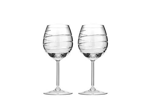 Neman TM8560-450/96-X, vasos de cristal para vino, vasos de cristal de 15 oz, vajilla de cristal, juego de 2