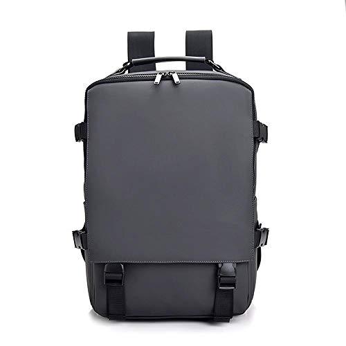 Good feeling zm Wasserdichter Outdoor-Sport-Wanderrucksack Herren Laptop Tablet Tasche Grau 17 Liter