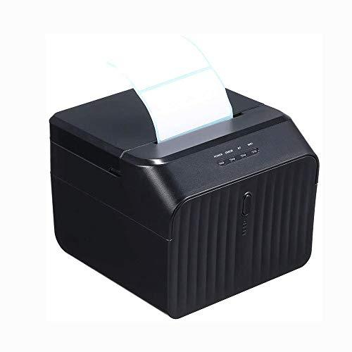 ALIZJJ Imprimante Thermique directe, Commercial Haute Vitesse Étiquette Writer Code Barcode Sticker adhésif imprimante d'étiquettes Port USB Impression Claire for iOS Android de Windows