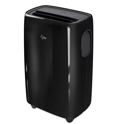 SUNTEC Mobiles lokales Klimagerät Progress 9.000 Eco R290 | Klimaanlage für Räume bis 34 qm | Abluftschlauch | Kühler und Entfeuchter mit ökologischem Kühlmittel | 9.000 BTU/h | Für Wohnung und Büro