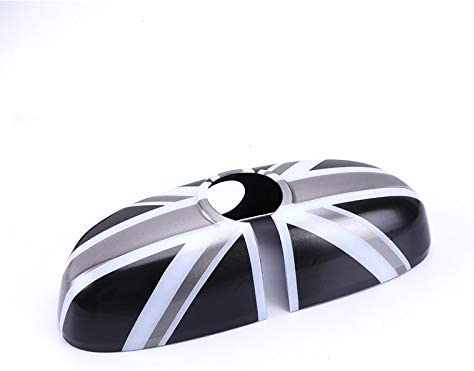 ABS Plastic Inside Inner Chicago Mall Interior Tri Rearview Sales Cover Mirror Caps