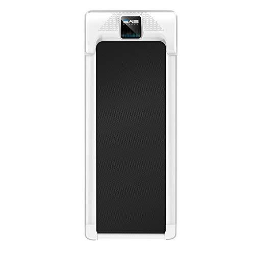 Caminadora plana Modelos for el hogar Pequeño Mini Ultra silencioso Gimnasio de interior Máquina de caminar plegable simple y dedicada Cintas de correr ( Color : Negro , tamaño : 120x60cm )