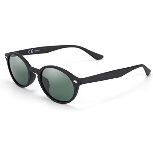 ZENOTTIC Gafas de sol ovaladas vintage para mujer polarizadas con protección UV400