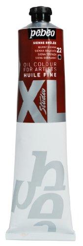 Pébéo - Olio fine XL 200 ML - Verniciatura ad olio di Siena bruciato - Pittura ad olio Pebeo - Siena bruciata 200 ml