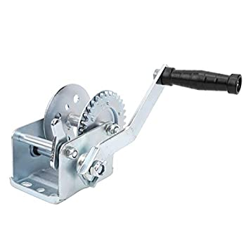 wosume 【𝐒𝐩𝐫𝐢𝐧𝐠 𝐒𝐚𝐥𝐞 𝐆𝐢𝐟𝐭】 Hand Winch Hand Capstan Hand?cranking Winch for Outdoor Use Yacht Boat Bad Weather