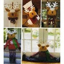 McCall's Craft 2444 - Decoración de Navidad para colgar en la puerta, diseño de pinzas, para colgar en la puerta, para colgar en la puerta, colgar en la puerta, colgar en la puerta, colgar en la puerta, colgar en la puerta, perchero, perilla de puerta y suelo/ventana de McCall's