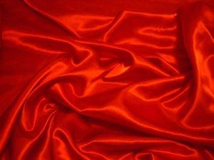 Telas Online UK Gran Calidad Trajes de Novia Barato Vestido de Satén Tela Rojo...